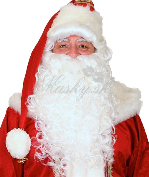 Paruka s bradou Santa 48265