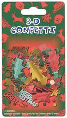 Konfety vánoční 3D 7581