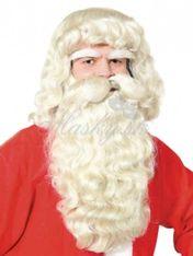 Paruka s bradou Santa 30228