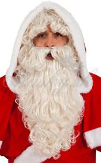 Paruka s bradou Santa 30235