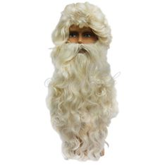 Paruka s bradou Santa 48061